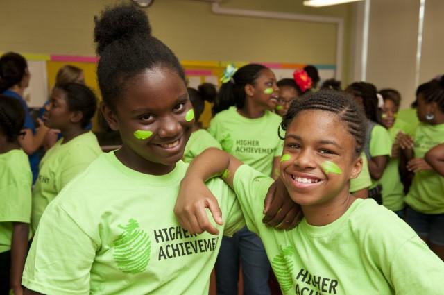 Smiling Baltimore Scholars