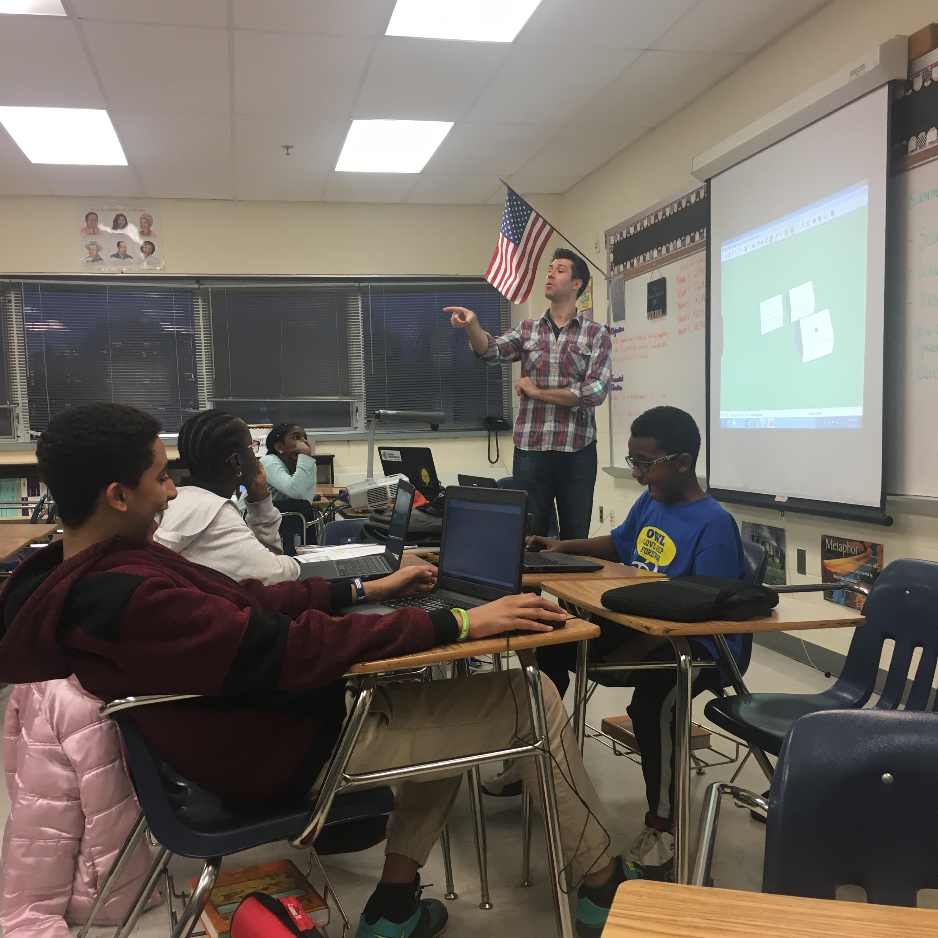 Hands-on STEAM education in DC   Higher Achievement